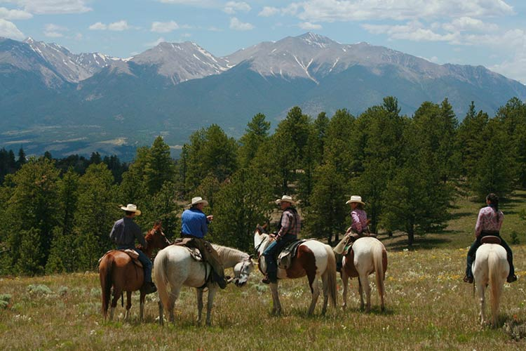 Elk Mountain Ranch riders