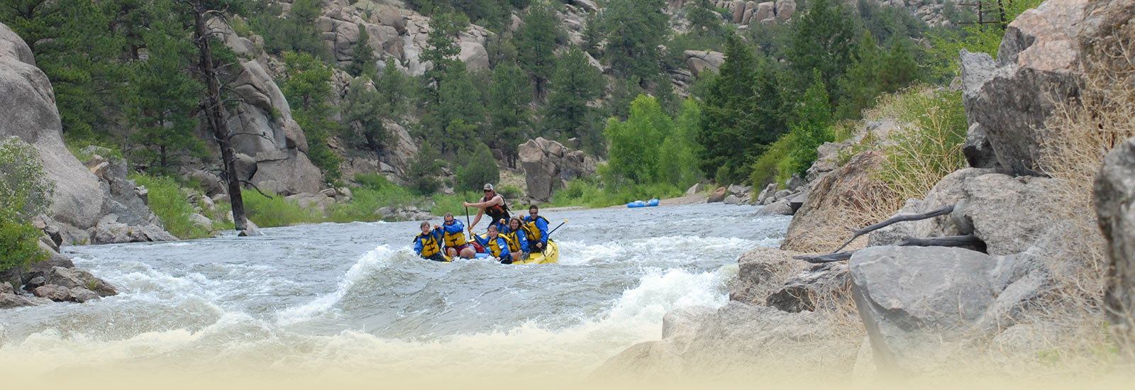 Elk Mountain Ranch rafting